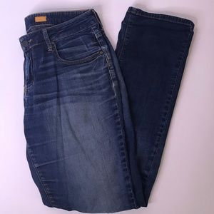 Pilcro And The Letterpress Low-Rise Straight Jeans
